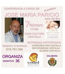 cartel jose maria paricio