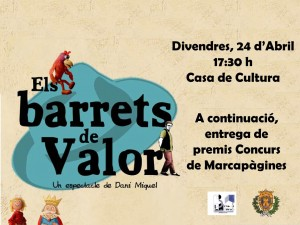 Cartel Barrets de Valor